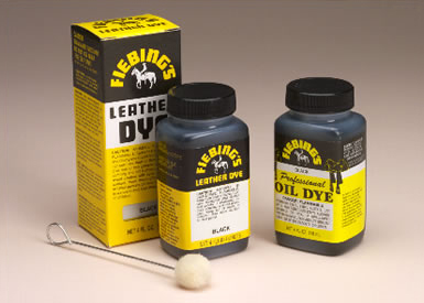 Dye, Adhesives and Leather Finishes
